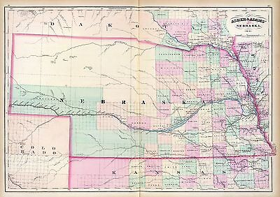 KANSAS state 104 old maps PANORAMIC genealogy HISTORY BIRDS EYE atlas DVD