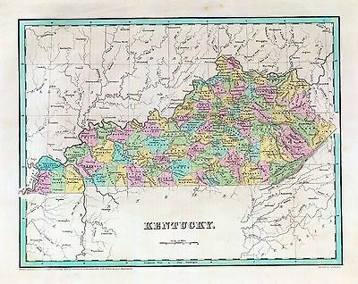 KENTUCKY state 205 maps PANORAMIC genealogy lots old HISTORY DVD