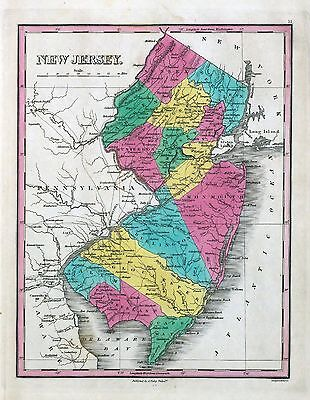 NEW JERSEY 218 maps state PANORAMIC genealogy old HISTORY atlas DVD