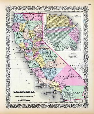 212 maps CALIFORNIA state PANORAMIC old genealogy lot HISTORY teaching atlas DVD