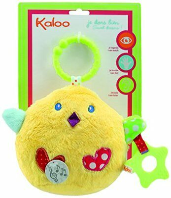 Kaloo Colors Activity Toys My Singing Chick Baby Touch Feel Toys, New