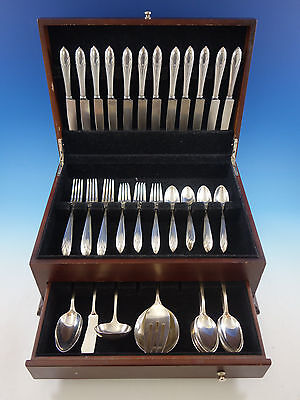 Elsinore by International Sterling Silver Flatware Set for 12 Service 65 pieces