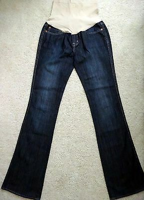 """Pea in the Pod Buffalo maternity bootcut jeans 30 S small 33"""" inseam long tall"""