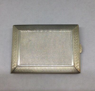 Very Rare 1930 Asprey Bond St London Solid Silver Match Book Near Mint