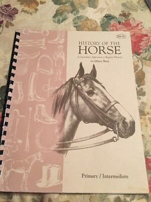 History of the Horse - A Literature Approach To Equine History By Hilary Berg