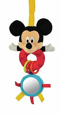 Disney Attachable Loop Toy Mickey Mouse Baby Touch Feel Toys, New