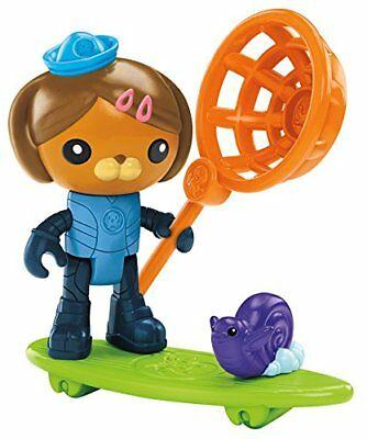 Fisher-Price Octonauts Dashi and The Surfer Snail Baby Toys, New