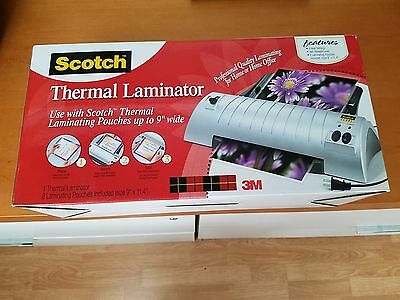 Scotch Thermal Laminator, TL901, Includes 50 Laminating Pouches