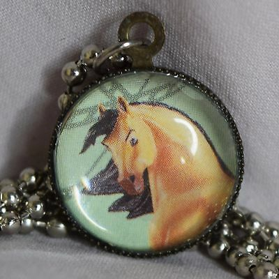 Breyer Model Horse Traditional Spirit Stallion Mustang Necklace Pendant Jewelry