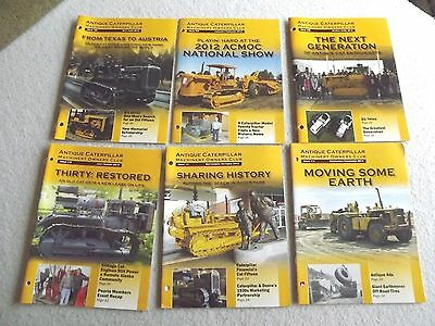 Antique caterpillar machinery owners club magazines 2013 year set free ship