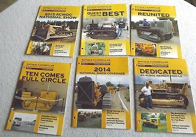 Antique caterpillar machinery owners club magazines 2014 year set free ship