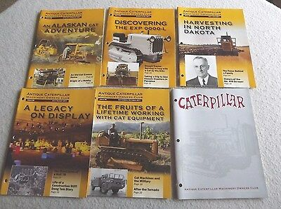 Antique caterpillar machinery owners club magazines 2011 year set free ship