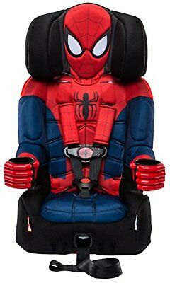 Combination Toddler Harness Booster Car Seat Marvel's Ultimate Spider-Man, New