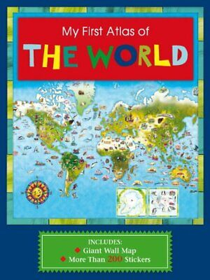 My First Atlas of the World by Niki Horin Hardback Book The Cheap Fast Free Post