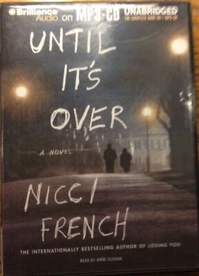 Until It's Over - Unabridged Audiobook On MP3 CD By Nicci French