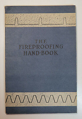 The Fireproofing Hand Book, General Fireproofing Co. Catalog/Booklet Illus, 1912