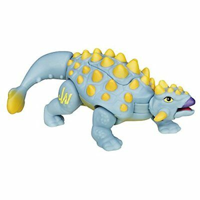 Playskool Heroes Jurassic World Ankylosaurus Baby Touch Feel Toys, New