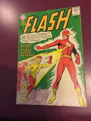 The Flash # 135 Kid Flash New Yellow Costume