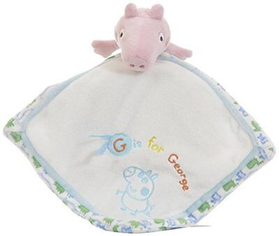George Pig Comfort Blanket For Baby By Rainbow Designs. Baby Touch Feel Toys