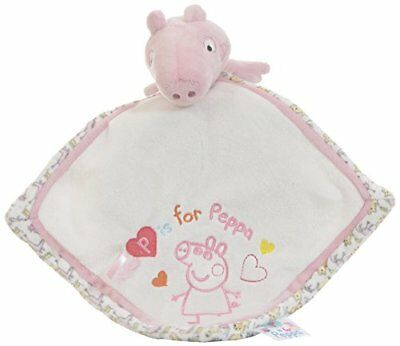 Peppa Pig Comfort Blanket For Baby By Rainbow Designs Baby Touch Feel Toys, New