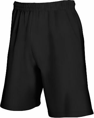 Hose Herren Fruit of the Loom Lightweight Shorts Sweat Freizeit Sport