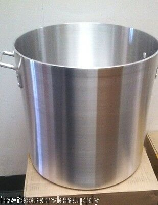 60 Quart Stock Pot Heavy Gauge Aluminum Commercial Cookware Cooker Boiler