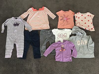 GAP Baby Girl Mixed Clothes Excellent Condition Size 1 / 12-18mths