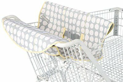 Comfort and Harmony Cool Wazoo 4-in-1 Neoprene Cart Cover Grey Dot, New