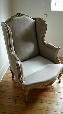 Genuine French antique armchair RRP $6,000 2 available