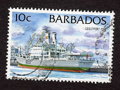 1998 Barbados 10c Geestport 1994 SG1076 FINE USED R32353