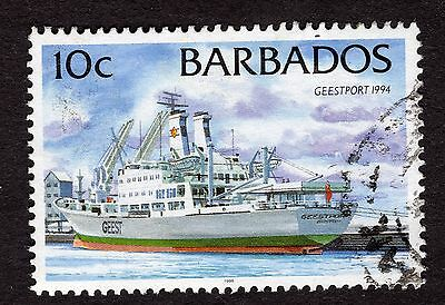 1998 Barbados 10c Geestport 1994 SG1076 FINE USED R32348