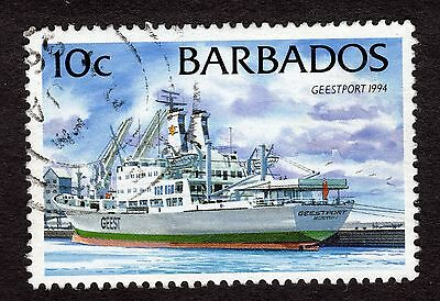 1994 Barbados 10c Geestport 1994 SG1076 FINE USED R32347