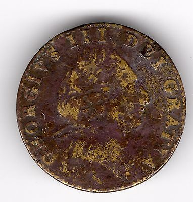 Unknown George III Coin or Token Good Used R34824