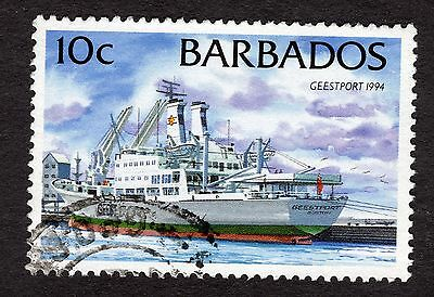 1994 Barbados 10c Geestport 1994 SG1076 FINE USED R32344