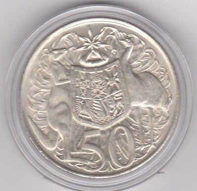 """1966 Silver FIFTY Cent """" 50 Cent """""""