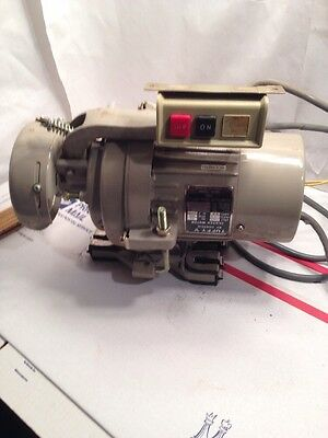 Vintage  Consew  Tuffy 1/3 HP Sewing Machine Clutch Motor--Works