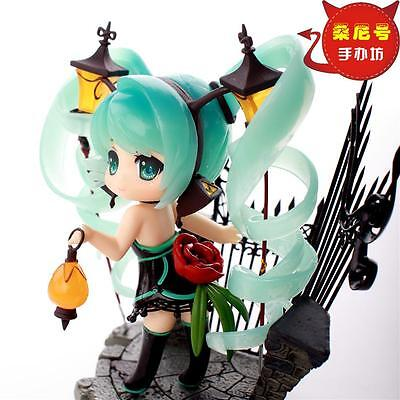 NEW Q ver. Hatsune Miku Sakura Painted Action PVC Figure Anime Toy 10cm