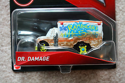 Disney Cars 3 - Dr. Damage Rambulance Ambulance - Deluxe
