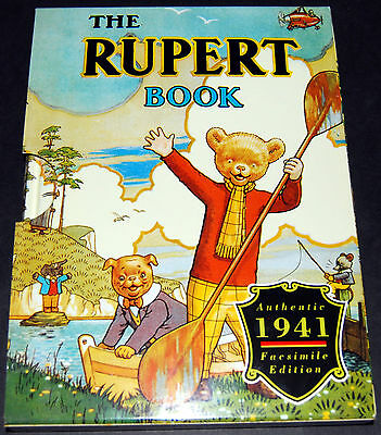 Rupert Bear 1941 Annual Facsimile - Excellent