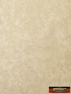 M00008a MOREZMORE 50 Sheets Parchment Paper AGED Heavy Certificate Blank T20A