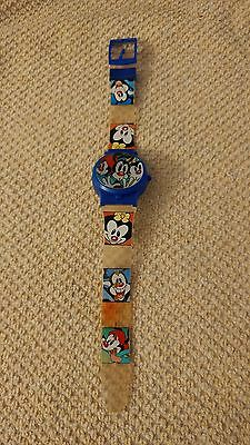 Animaniacs Yakko, Wakko and Dot watch all on the watch face and band