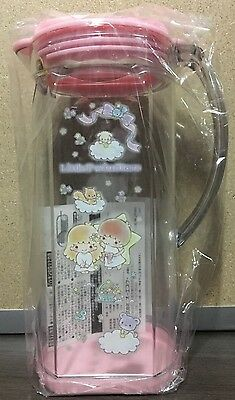 2016 NEW Sanrio LITTLE TWIN STARS clear 1.2 L pitcher rainbow bears and clouds!