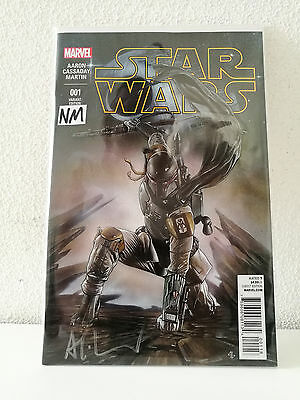 Star Wars #1 NM (Signed Forbidden Planet Adi Granov Color Variant) 2015
