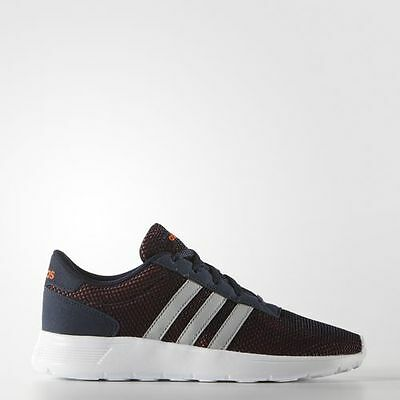 Adidas Neo Boys Girls Shoes LITE RACER K F99661 Sneakers Unisex Blue Orange