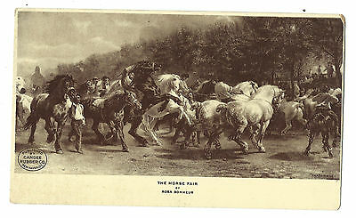 Old Trade Card Candee Rubber Co Footwear Boots New Haven Horse Fair Rosa Bonheur