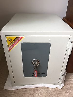 Phoenix 2000 series Datacare fire safe with key operated lock.