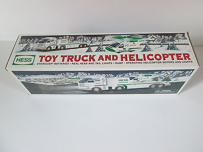 Hess 2006 Toy Truck and Helicopter New In Box