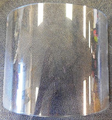 "Paulson Mfg. IM14-L12F Polycarbonate Industrial Face Shield 7"" x 11"" x .125"""