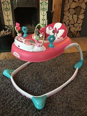 Minnie Mouse Baby Walker And Activity Tray