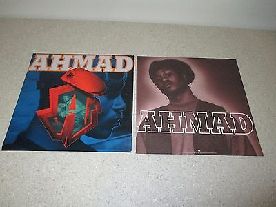 "AHMAD - Self Titled 1994 PROMO ONLY 12.5"" Album Poster RARE Old School Hip-Hop"